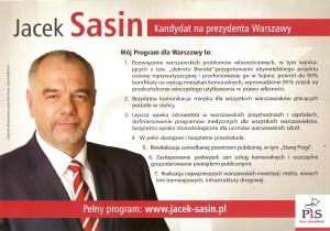 Jacek Sasin Dobra Zmiana Dla Warszawy 1