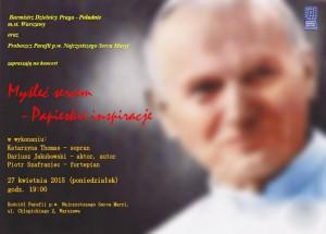 koncert papież